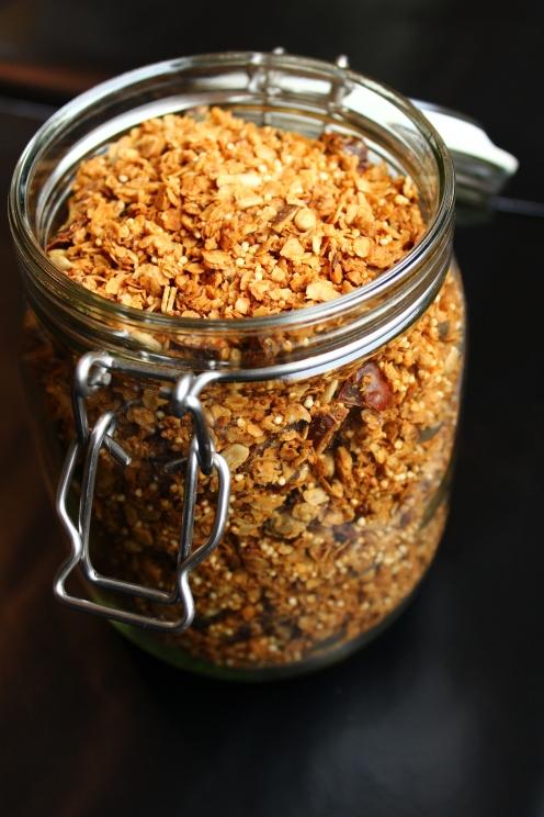 süß-salziges Granola